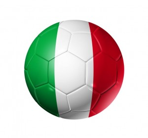 Sicily as Soccer Ball of Italy